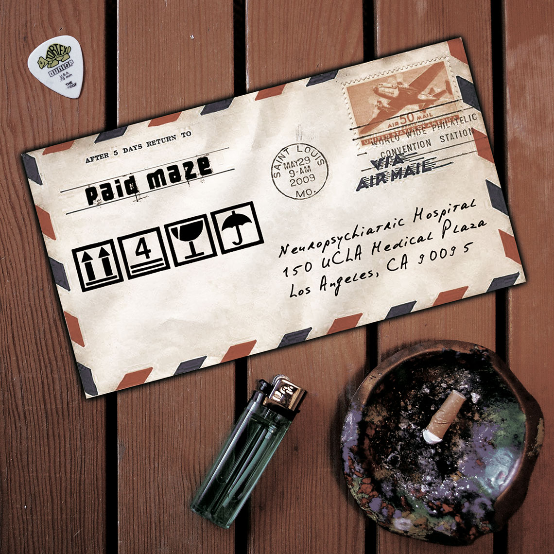 Paid Maze Album Fragile Good